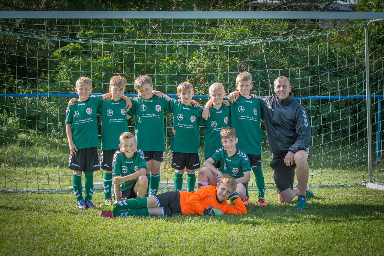 Letztes Saisonspiel der E-Junioren in Karlshagen